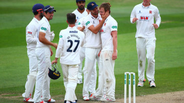 Tom Westley picked up a couple of wickets with his offspin