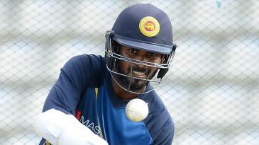Upul Tharanga has a hit at the nets