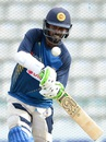 Upul Tharanga has a hit at the nets, Pallekele, September 3, 2016