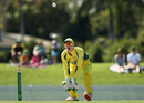 Cameron Bancroft gets in line to collect a throw, Australia A v India A, Quadrangular A-team one-day series, final, Mackay, September 4, 2016