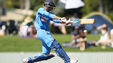 Axar Patel chipped in with a 17-ball 22*