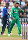 Mohammad Amir removed Jason Roy for 87, England v Pakistan, 5th ODI, Cardiff, September 4, 2016