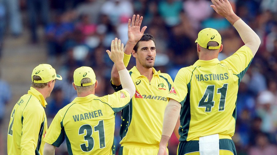 Mitchell Starc picked up 3 for 40