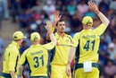 Mitchell Starc picked up 3 for 40, Sri Lanka v Australia, 5th ODI, Pallekele, September 4, 2016