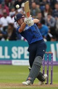 Jonny Bairstow punches down the ground,  England v Pakistan, 5th ODI, Cardiff, September 4, 2016
