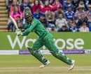 Shoaib Malik made his first ODI fifty against England in England,  England v Pakistan, 5th ODI, Cardiff, September 4, 2016