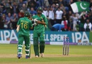 Imad Wasim and Mohammad Rizwan sealed Pakistan's win, England v Pakistan, 5th ODI, Cardiff, September 4, 2016