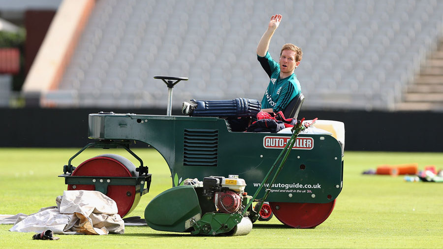 On a roll: Eoin Morgan has overseen a successful white-ball summer