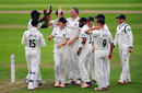Rikki Clarke claimed 3 for 32 as Somerset were skittled, Somerset v Warwickshire, County Championship, Division One, Taunton, 1st day, September 6, 2016
