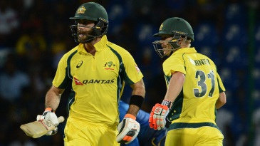 David Warner and Glenn Maxwell got Australia off to a flier