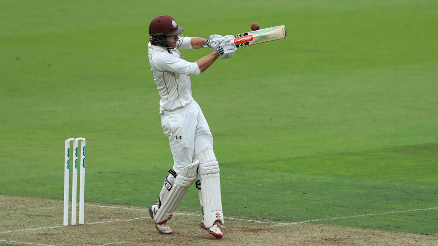 Ben Foakes saw his way through the close on 47 not out