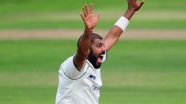 Jeetan Patel claimed a five-wicket haul