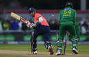 Alex Hales was bowled attempting to sweep, England v Pakistan, only T20, Old Trafford, September 7, 2016