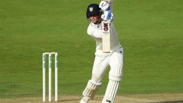Jack Burnham ground out 34 off 113 balls