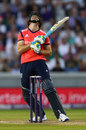 Jos Buttler holed out to deep point for 16, England v Pakistan, only T20, Old Trafford, September 7, 2016