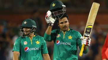 Sharjeel Khan struck a 30-ball fifty