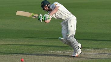 Cameron Bancroft flicks into the leg side