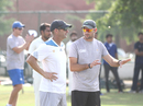 Gary Kirsten observes proceedings at a Rajasthan training camp, Jaipur, September 8, 2016