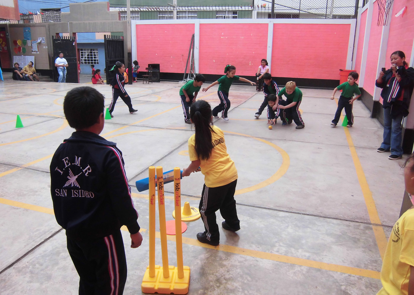 Children raised in football-mad Peru struggle to grasp cricket's more sedate pace
