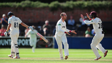 Jack Leach claimed six second-innings wickets to finish off Warwickshire at Taunton