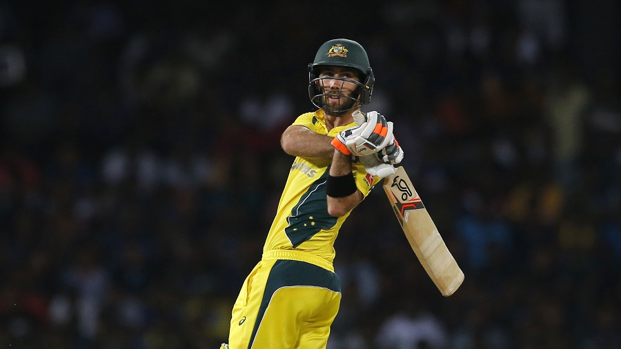 Glenn Maxwell bulldozed his to the fastest fifty by an Australian in T20Is