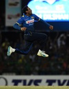 Tillakaratne Dilshan ended his international career with a wicket off his last ball, Sri Lanka v Australia, 2nd T20I, Colombo, September 9, 2016
