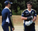 Mark Boucher talks to Quinton de Kock, Cape Town, January 17, 2013