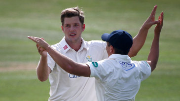 Craig Meschede took out Essex's top order