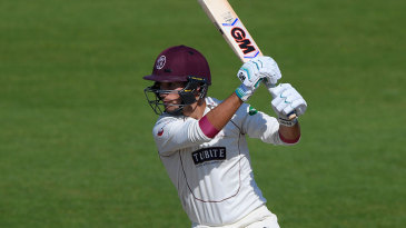 Lewis Gregory bolstered Somerset's lead