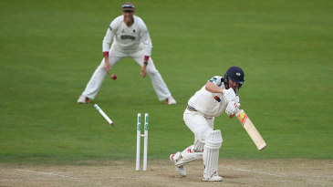 Gary Ballance did not last long in the second innings