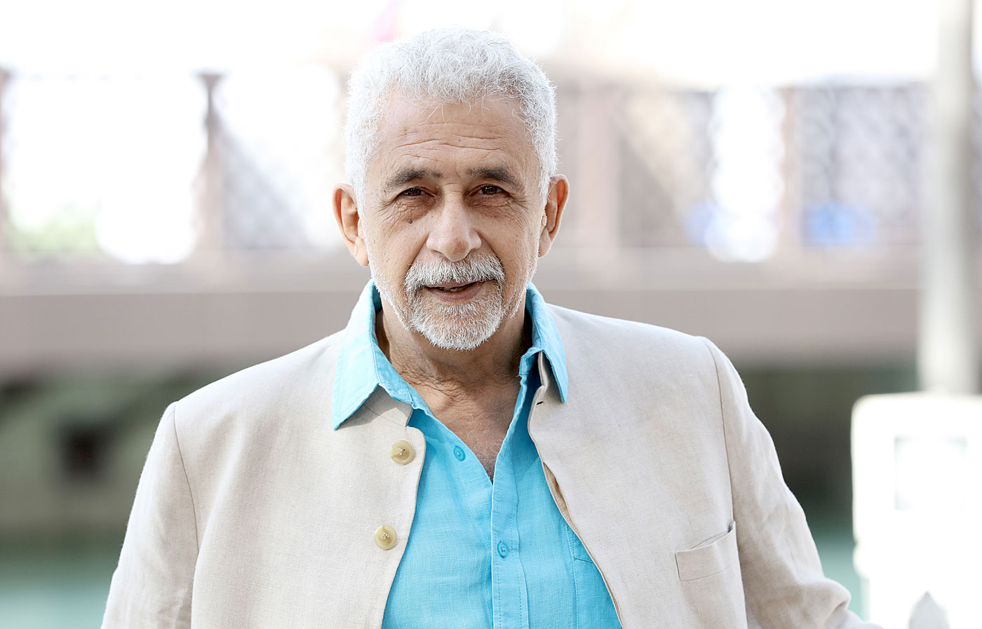 Can there be an Indian movie on cricket without Naseeruddin Shah?