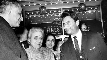 Actor Dev Anand in New York in 1965