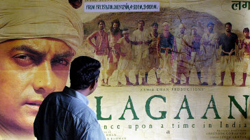 A poster of the film <i>Lagaan</i>