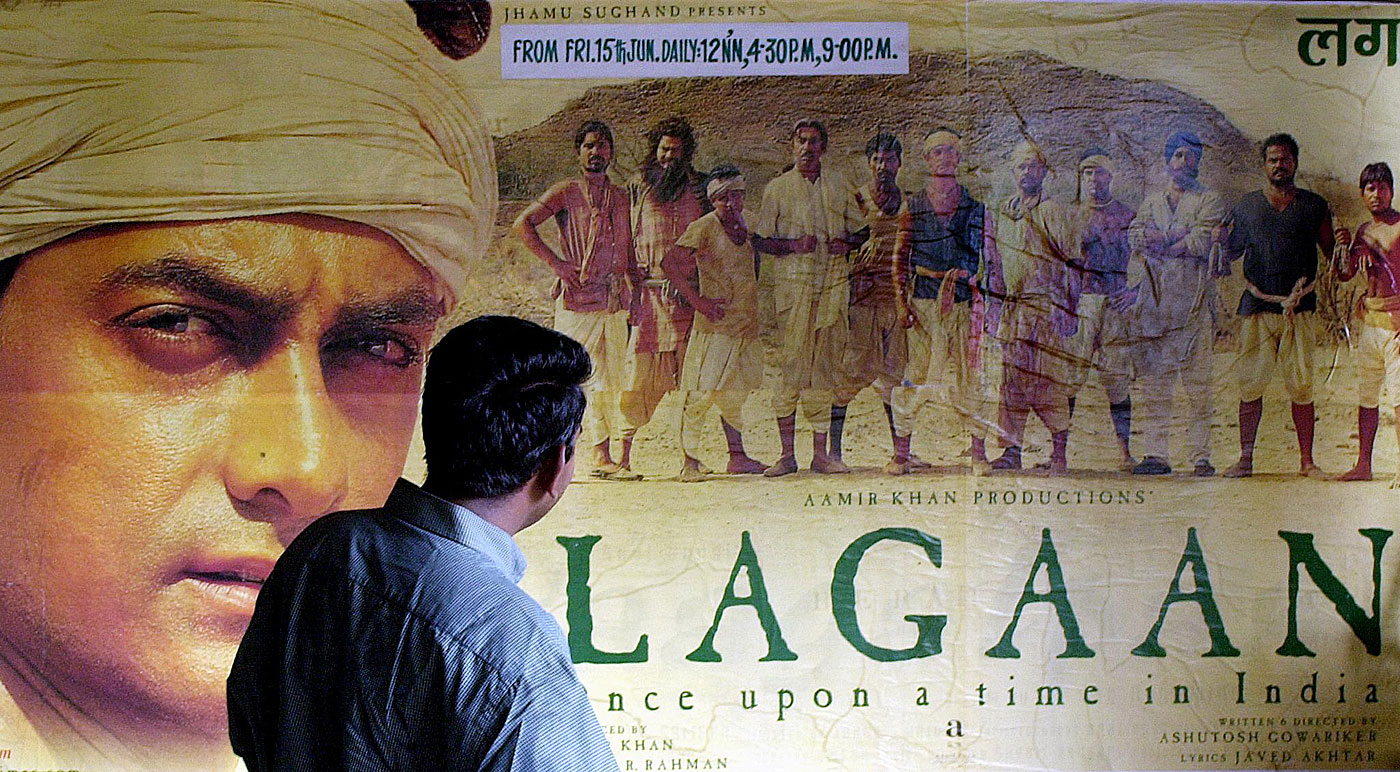 Beating them at their own game: <i>Lagaan</i> was the ultimate feel-good movie, where the underdogs upstaged their masters