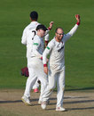 Jack Leach finished with 6 for 64, Yorkshire v Somerset, County Championship, Division One, Headingley, 3rd day, September 14, 2016