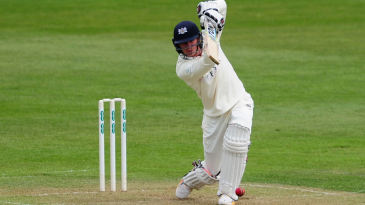 George Hankins bats for Gloucestershire