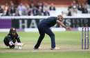 Jeetan Patel flicks the ball back to run out Tom Curran, Surrey v Warwickshire, Royal London Cup Final, Lord's, September 17, 2016