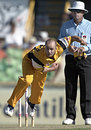 Duncan Spencer during his comeback in Australian domestic cricket, Western Australia v New South Wales, Perth, February 25, 2001
