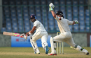 Aditya Tare steers the ball past BJ Watling on the leg side, Mumbai v New Zealanders, tour match, 2nd day, Delhi, September 17, 2016