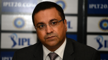 BCCI CEO Rahul Johri at a press conference