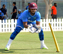Nicholas Pooran fine-tunes his wicketkeeping skills, Dubai, September 19, 2016
