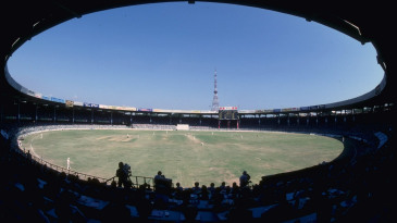A general view of the MA Chidambaram Stadium, also known as Chepauk