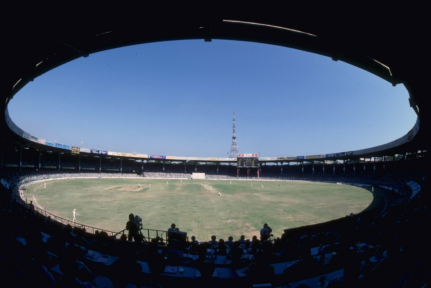 The Chepauk cauldron: the radiating heat from the concrete stadium structure could mess with your body and your mind