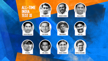 The all-time Indian Test XI