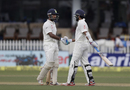 Cheteshwar Pujara and M Vijay lay a solid platform with their partnership, India v New Zealand, 1st Test, Kanpur, 1st day, September 22, 2016
