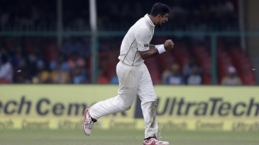 Ish Sodhi is thrilled after dismissing M Vijay