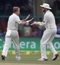 Neil Wagner got rid of Virat Kohli with a short ball, India v New Zealand, 1st Test, Kanpur, 1st day, September 22, 2016