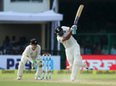 Rohit Sharma goes for a big shot, India v New Zealand, 1st Test, Kanpur, 1st day, September 22, 2016