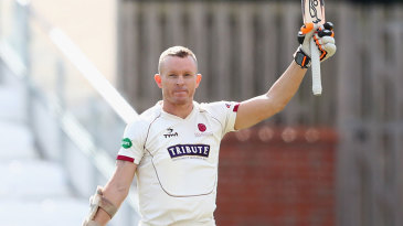 Chris Rogers made his second century of the match