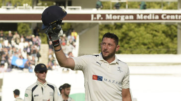 Tim Bresnan walks off unbeaten on 142